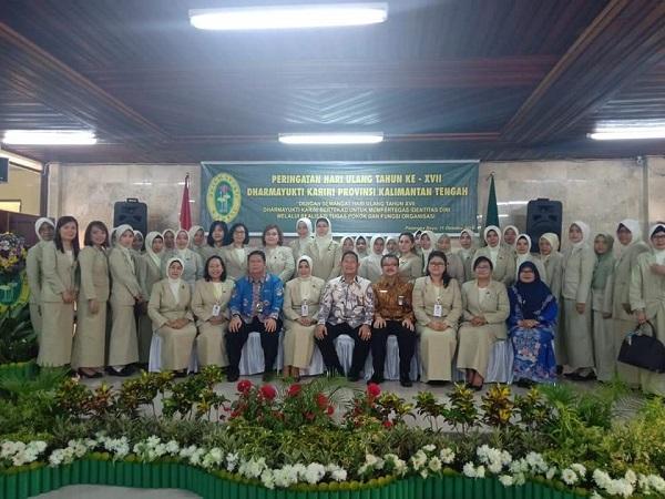 Dharmayukti Karini Cabang Kuala Kurun Peringati HUT Ke XVII