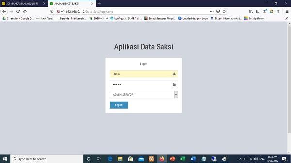 Wowwww! PA Kuala Kurun Memiliki Aplikasi Data Saksi