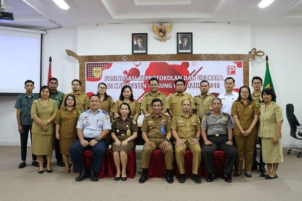 Ajudan Ketua PA Kuala Kurun Mengikuti Diklat Keprotokolan dan Upacara di Kabupaten Gunung Mas