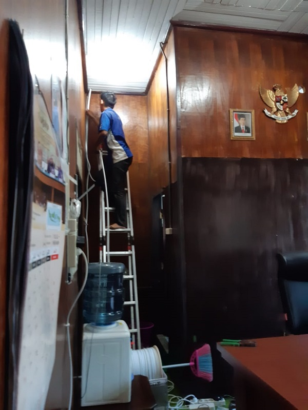 Sekarang PA Kuala Kurun Pasang CCTV, Demi Keamanan !!!